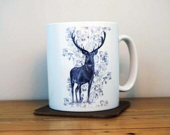 Rose Stag Mug