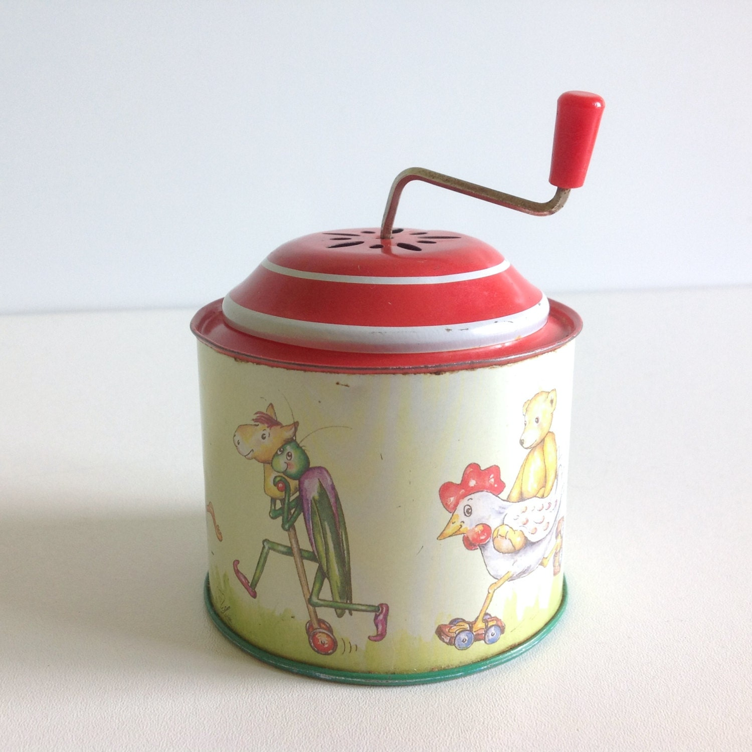 Vintage Musical Toys : Vintage child toy musical