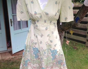 Woodland dreams 70's vintag dress