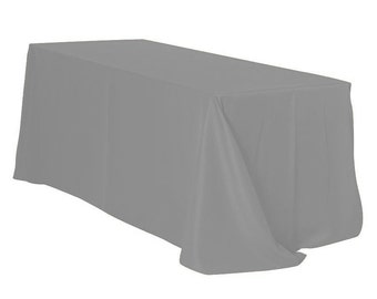 Items Similar To Tablecloth In Gray Chevron On Etsy
