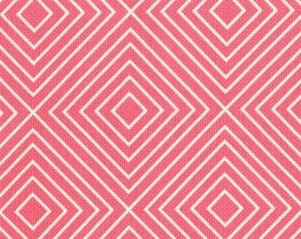 SALE, Diamonds Pink, Michael Miller Fabrics Textured Basics DC5806, Sold by the half yard