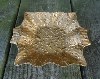 Weeping Gold Dish