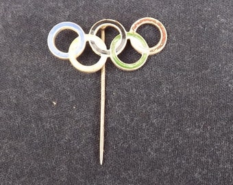 Olympic Games 1936 Olympiad Berlin Enamel Badge
