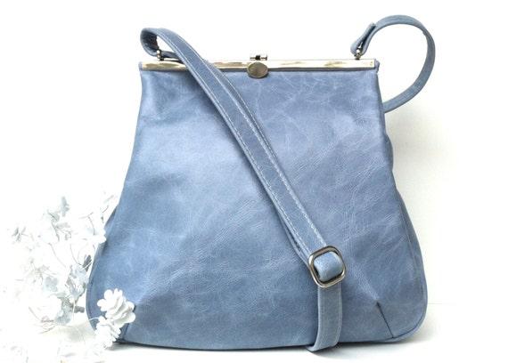 "leather bag, ""BLUESKY"",handbag,"