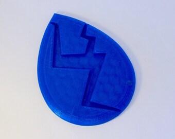 3D Printed Blue Lapis Lazuli Gem Cosplay