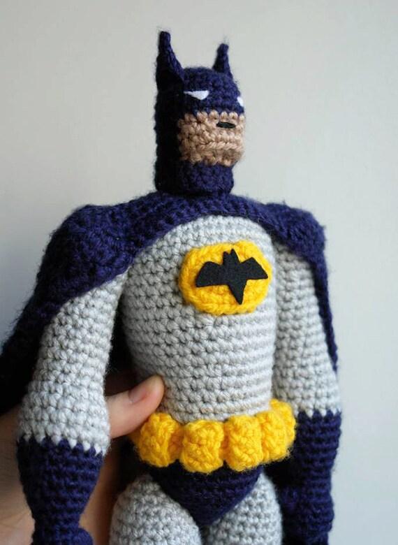 Batman Amigurumi Patron Espanol : PATRoN de GANCHILLO amigurumi crochet de Batman por ...