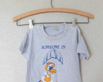 vintage gray warrenton duck rain baby T shirt 2T