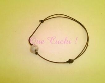 Jade elastic bracelet