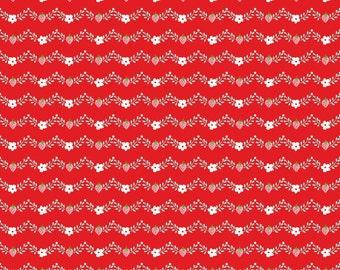 Vintage Market Vine - Red by Tasha Noel for Riley Blake Designs - C4565-Red