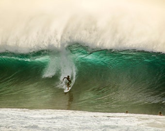 """Surf Photography, Wave Photography, Hawaii, North Shore, Landscape Photography, Ocean Photography, Pipeline, Wave art - """"Jewels of Pipeline"""""""