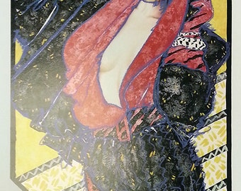 """Olivia De Beradinis """"After Hours"""" - S/N Lithograph - Retail 950.00 - COA - See Live at GallArt - Buy/Sell/Trade"""