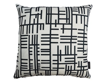 Almedahls Scandinavian mid century fabric cushion cover - Pickepin