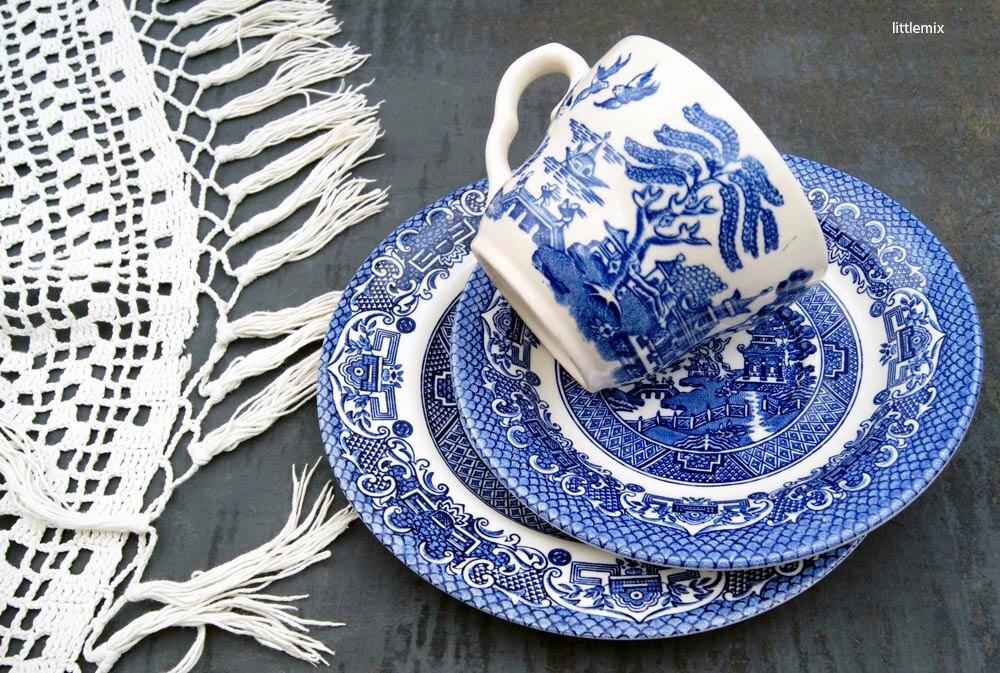 Eit English Ironstone Tableware Ltd Blue Willow