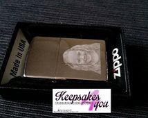 PERSONALISED engraved zippo lighter - 100% genuine