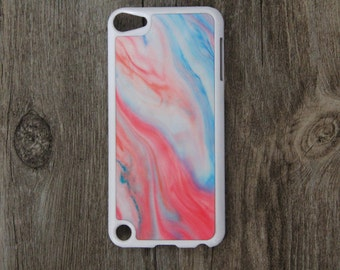 Vintage Pastel Color iPod Touch 5 case and iPod Touch 4 Case,iTouch 5/4 Rubber Case