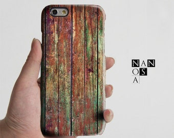 Rustic Shabby Wood Print iPhone 6/6s Case,iPhone 6/6s Plus Case,iPhone SE/5/5c/5s Case,Samsung Galaxy S7/S6 Edge,S7/S6/S5/S4/S3,Note 5/4/3/2