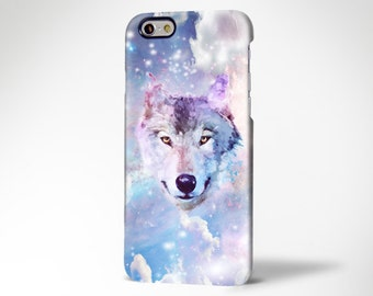 Nebula Wolf iPhone 7/6/6s Case,iPhone 7/6/6s Plus Case,iPhone SE/5/5c/5s Case,Samsung Galaxy S7/S6 Edge,Galaxy S5/4S/S3/S2,Note 5/4/3/2 Case