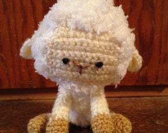 Teeny-tiny spring lamb