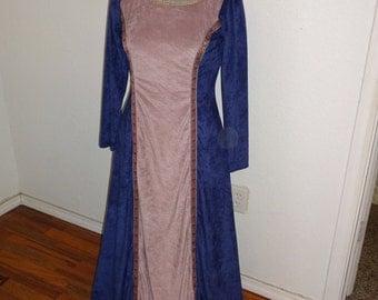 CLEARANCE Microsuede knit Renaissance Dress