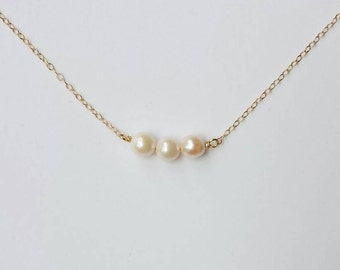 "16"" Blush Pearl Necklace"