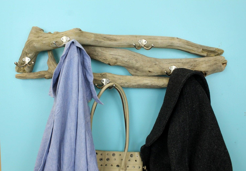 driftwood coat rack entryway decor beach style coat rack. Black Bedroom Furniture Sets. Home Design Ideas