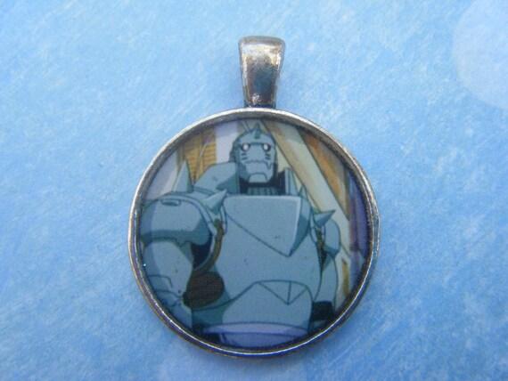 Fullmetal Alchemist: Alphonse Pendant by AnimeHaven on Etsy