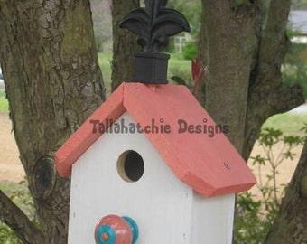 Church Birdhouse, Little country church birdhouse, country church birdhouse, white church birdhouse