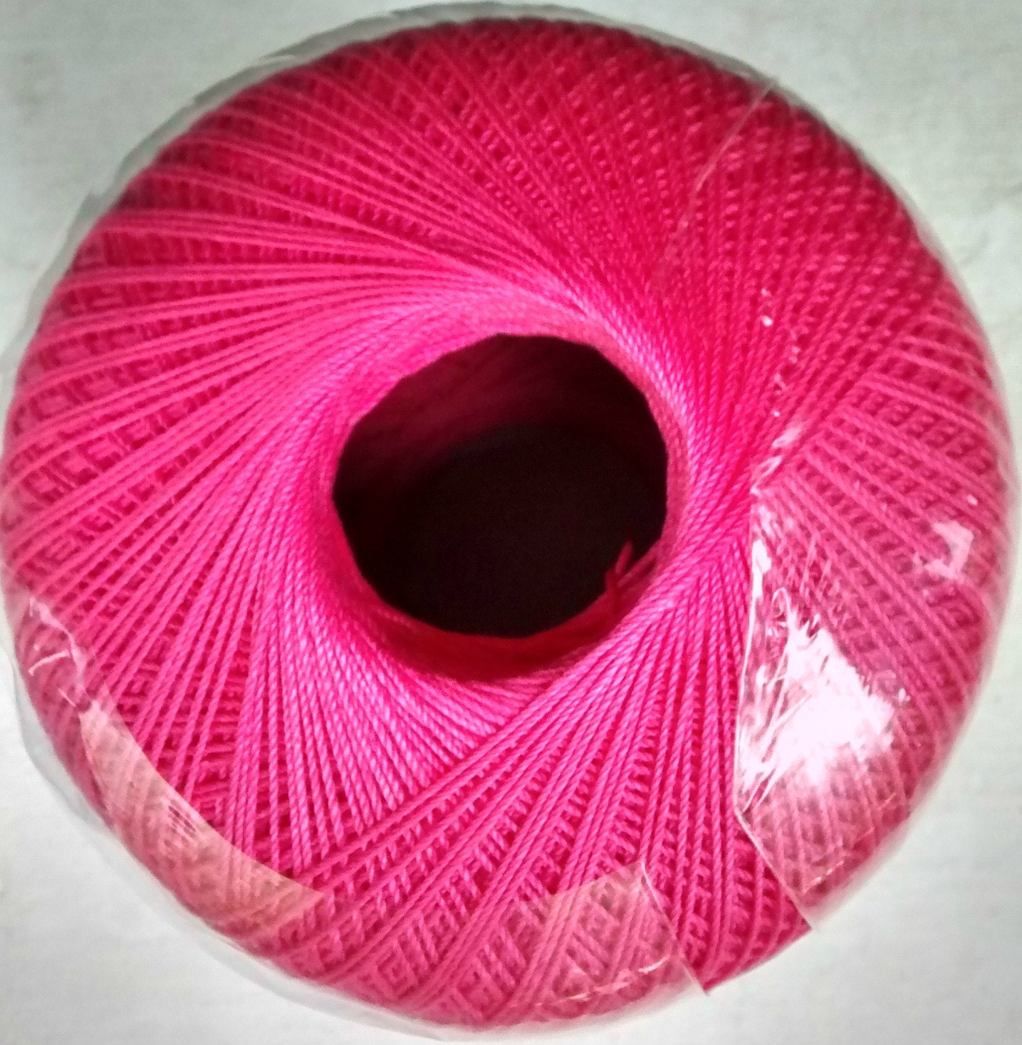 Aunt Lydias Crochet Thread Size 10 Hot PInk by CalmingStitches