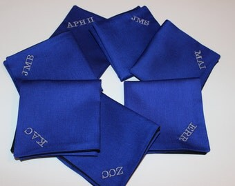 Personalized/Monogrammed Two-Sided Pocket Squares