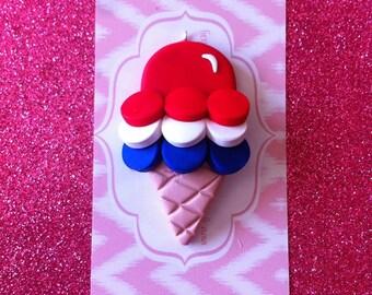 Patriotic ice cream
