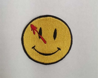 The Watchmen Bloody Smiley Embroidery Patch