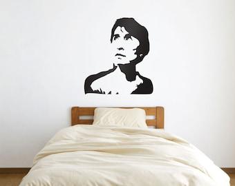 Aung San Suu Kyi Portrait Vinyl Wall Art