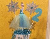 Disney Frozen Elsa Birthday CenterPiece