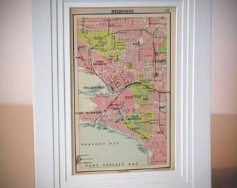 Wales Vintage Map 1800s Antique For Home Decor By Impalaprints