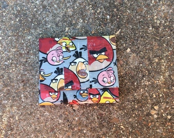 Angry Birds Ducttape Accordion Wallet