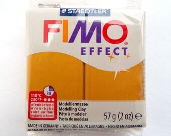 Metallic Gold Clay, Fimo Effect, 2oz Fimo Block, 57g Polymer Clay, Jewelry Clay, Fimo Clay, Metallic Gold Fimo, Modelling Clay, UK Seller