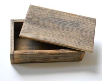 Barnwood Pencil Box