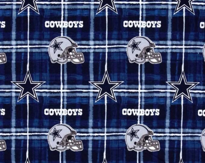 Dallas Cowboys NFL Team Football Sports Cotton Flannel Fabric