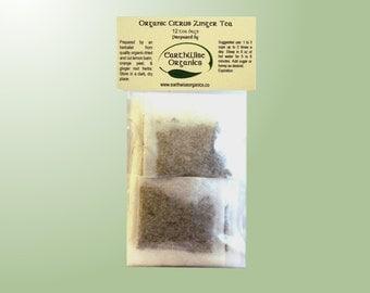 Citrus Zinger Tea From Certified Organic Herbs