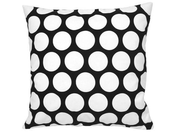 kissenh lle punkte dandie schwarz wei 50 x 50 cm. Black Bedroom Furniture Sets. Home Design Ideas