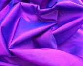 Purple shot blue/pink plain taffeta two-tone fabrics curtains/blinds cushions wedding dress Fabric drapery silk decorations - PER METRE