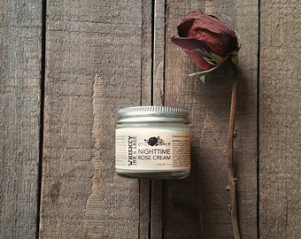 Organic Nighttime Rose Cream