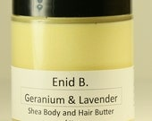 4 oz. Geranium and Lavender Shea Hair and Body Butter
