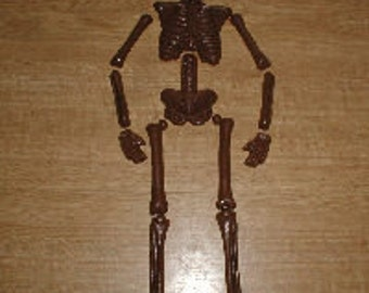 Large Articulated Skeleton Chocolate Mold