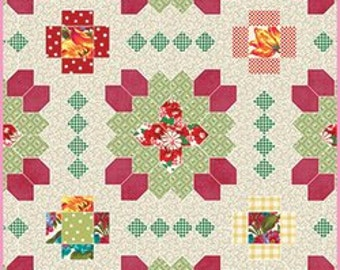 Quatro Colour Quilt English Paper Piecing Kit By Sue Daley