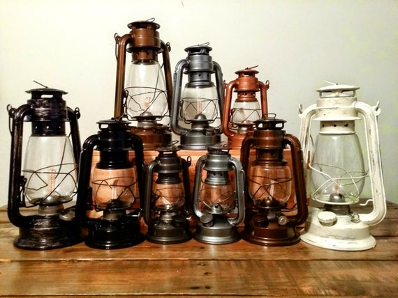 railroad lanterns from Etsy