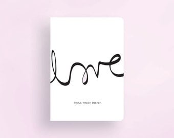 Greeting Card • Love Collection by Celebratink • Valentine's Day • Anniversary • Wedding • Typography • Handlettering