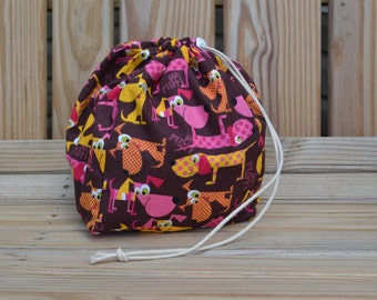 Funky Mutts Reversible Drawstring Bag