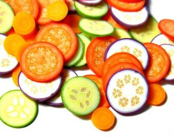 FLASH SALE Miniature Veggie Slice Mix 60pcs