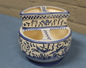 ceramic kitchen utensil holder | etsy